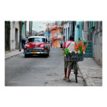 Florista cubano póster