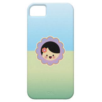 Florista de Kawaii iPhone 5 Case-Mate Fundas