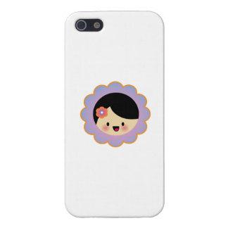 Florista de Kawaii iPhone 5 Protector