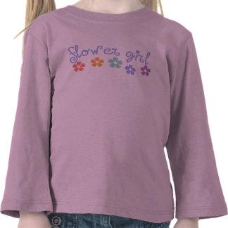Florista de la Femenino-Señal Camisetas
