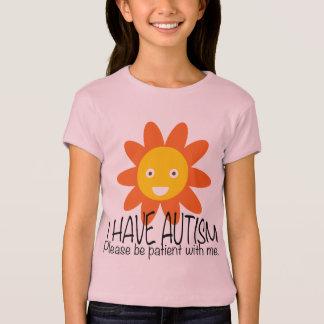 Florista del autismo playera