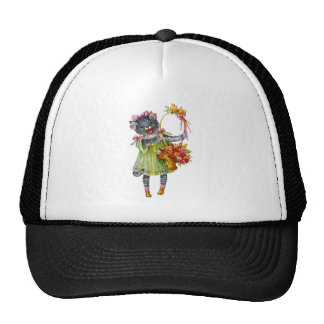 Florista del gatito gorros