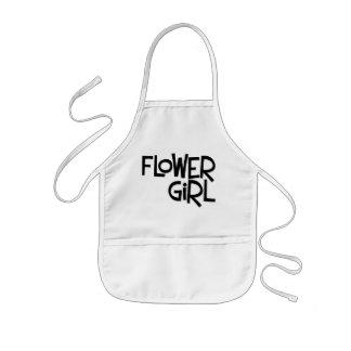 Florista del inconformista delantal infantil