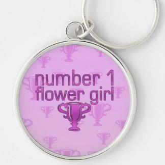Florista del número 1 llaveros personalizados