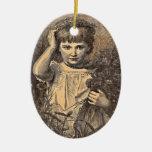 Florista del vintage ornamentos de reyes