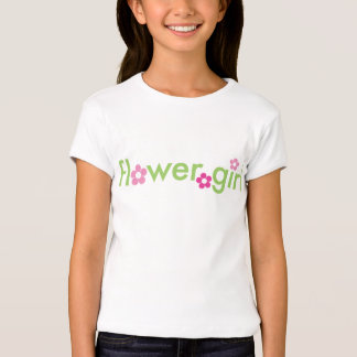 Florista - muñeca de los chicas (cabida) remera