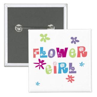 Florista Pin Cuadrada 5 Cm