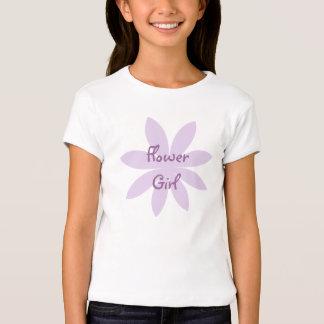 Florista púrpura de la margarita poleras