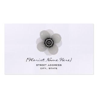 Florista/tarjeta de visita floral del diseñador - tarjetas de visita