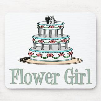 Florista torta tapete de ratón
