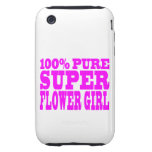 Floristas: Florista estupendo rosado iPhone 3 Tough Funda