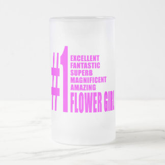 Floristas modernos rosados: Florista del número un Taza Cristal Mate