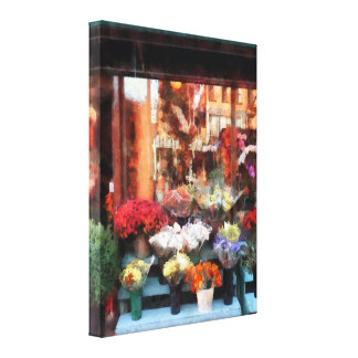 Floristería de Chelsea Lienzo Envuelto Para Galerías