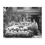 Floristería de Nueva York, 1895 Lienzo Envuelto Para Galerías