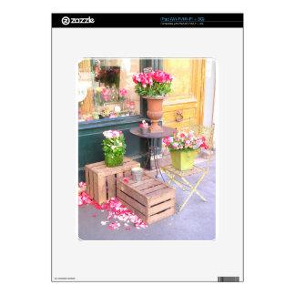 Floristería de París Calcomanía Para El iPad