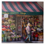 Floristería - NY - floristería de Chelsea - del Hu Azulejos Cerámicos