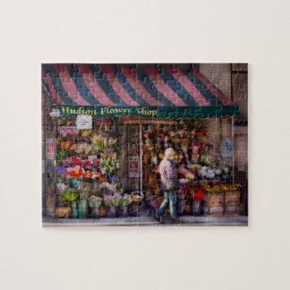 Floristería - NY - floristería de Chelsea - del Hu Rompecabeza