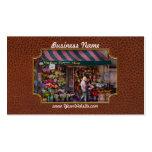 Floristería - NY - floristería de Chelsea - del Hu Tarjetas Personales