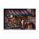Floristería - NY - floristería de Chelsea - del Hu Tarjetas Postales