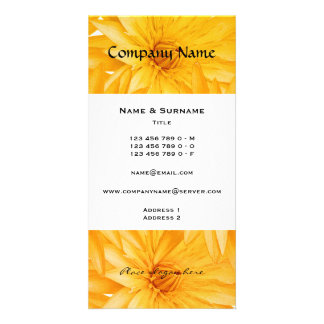 Florists, spa, spas, gardeners, landscapers card
