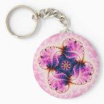 Florivet - Fractal Art Keychain