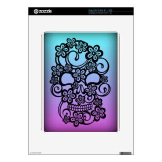 floround skull skins for iPad