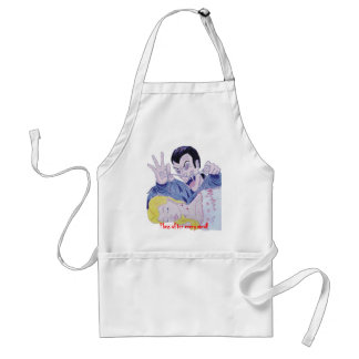 Floss after every meal aprons