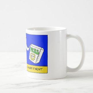 Floss Attacks Plaque Mug