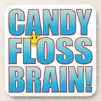 Floss Brain Life B Beverage Coaster