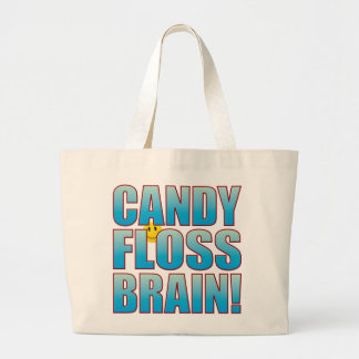 Floss Brain Life B Large Tote Bag
