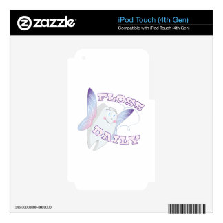 Floss Daily Skin For iPod Touch 4G