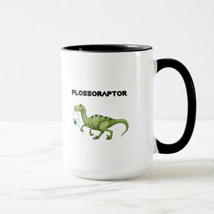 Floss Flossoraptor Hygiene Dental Funny
