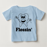 Flossin' (w/ Happy Tooth!) T Shirt
