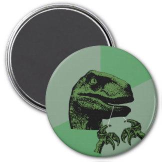 Flossoraptor Philosoraptor 3 Inch Round Magnet