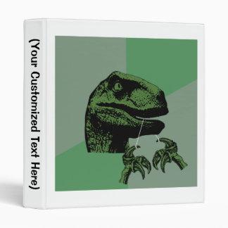 Flossoraptor Philosoraptor Binder