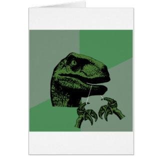 Flossoraptor Philosoraptor Felicitación