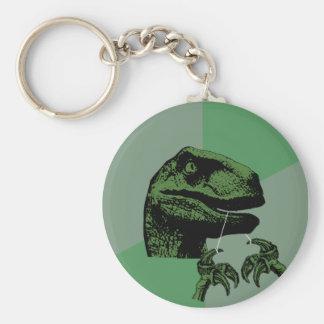 Flossoraptor Philosoraptor Keychain