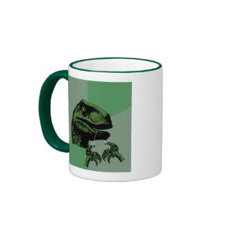 Flossoraptor Philosoraptor Ringer Coffee Mug