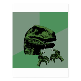 Flossoraptor Philosoraptor Tarjetas Postales