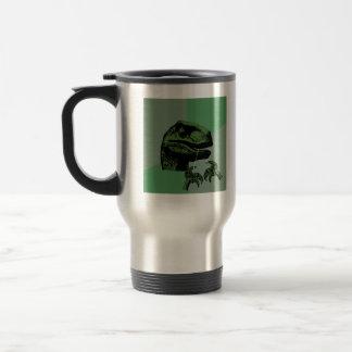 Flossoraptor Philosoraptor Travel Mug