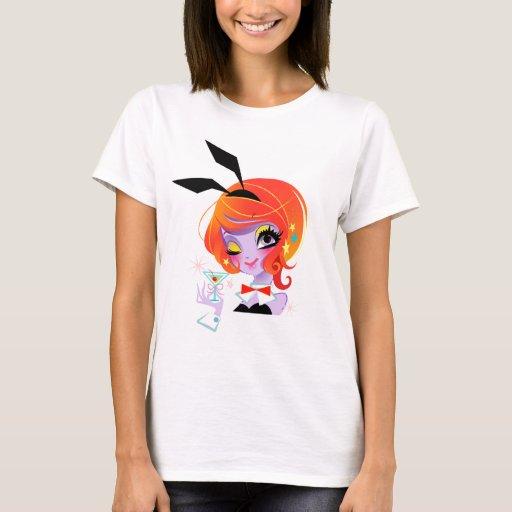 Flossy girl Performance Micro-Fiber Singlet T-Shirt