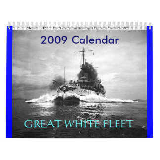 FLOTA BLANCA ussconnecticutspeed, GRAN, Ca 2009… Calendarios De Pared