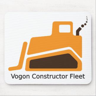 Flota del constructor de Vogon Tapete De Ratón