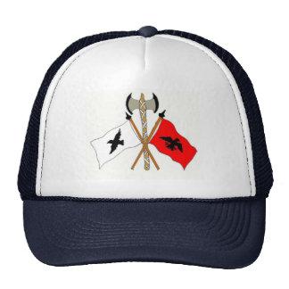 flota el oer de la bandera del cuervo nosotros gorro