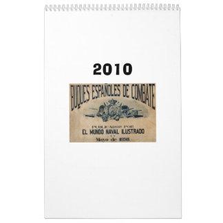 Flota española 1898 calendario