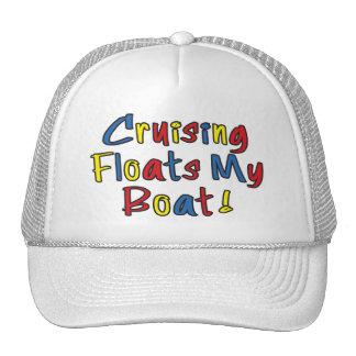 Flota mi gorra del barco