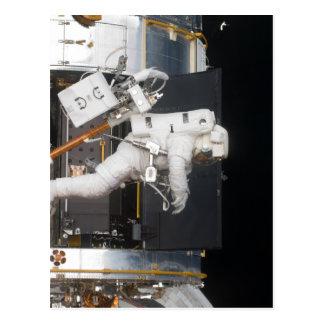 Flotación del astronauta postal