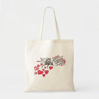 Flotación en amor bolsas de mano