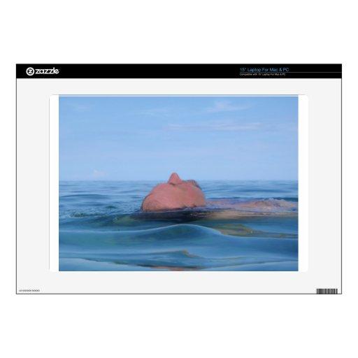 flotación en el mar portátil skin