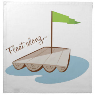 Flotador adelante servilletas de papel
